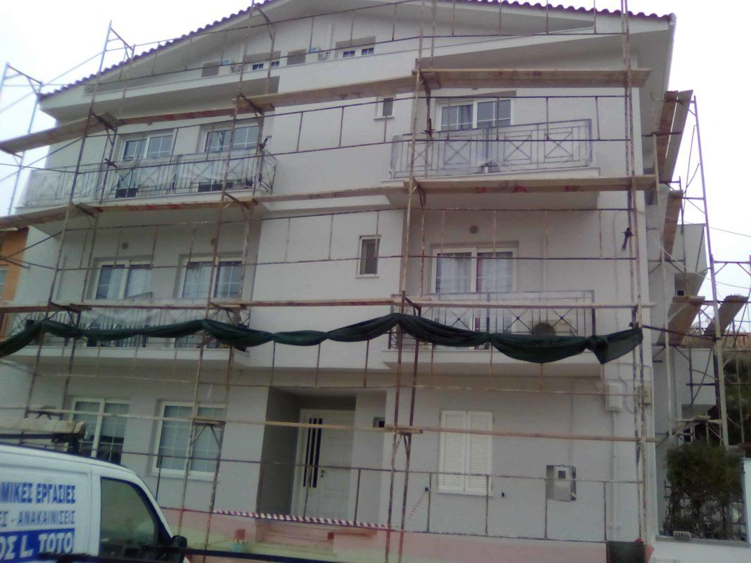 ελαιοχρωματισμός ξενοδοχείου