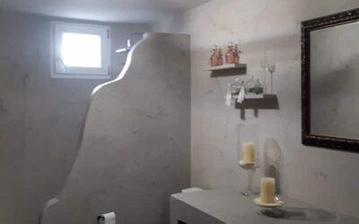 WC και Μπάνιο από Πατητή Τσιμεντοκονία