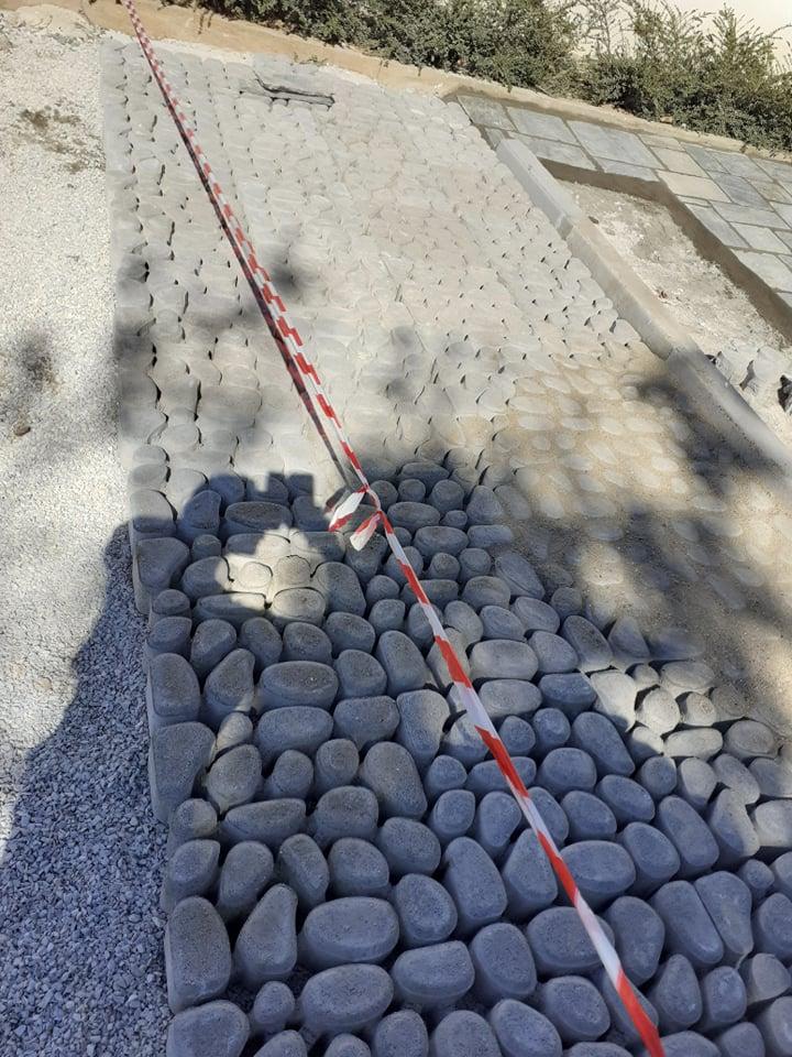 Πεζοδρόμια – Κάλυψη Αυλής με Πέτρα και Πλάκες